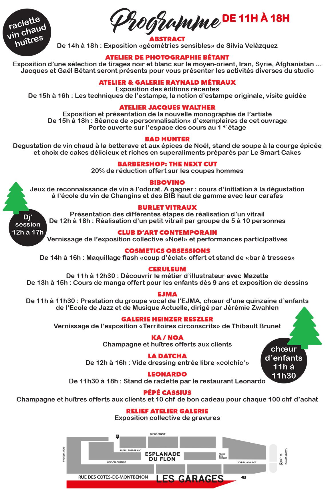 Les Garages feiern Weihnachten – Was gibt\'s neues im Flon? – Agenda ...